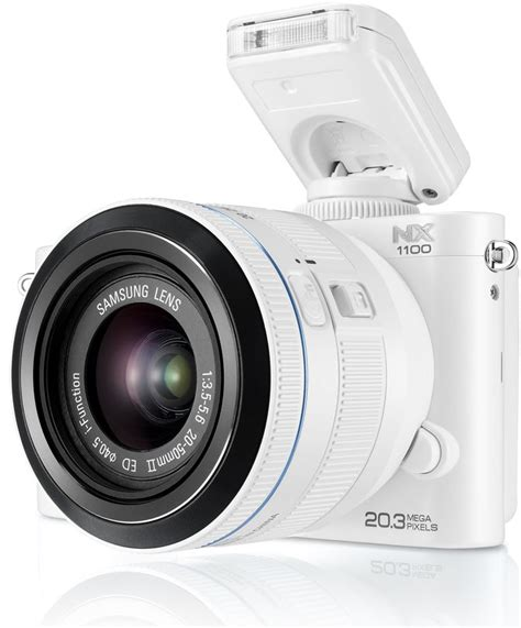 Amazon.com : Samsung NX1100 Smart Wi-Fi Digital Camera ...