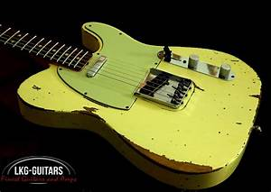 Fender Custom Shop 1964 Telecaster Vintage White Heavy Relic