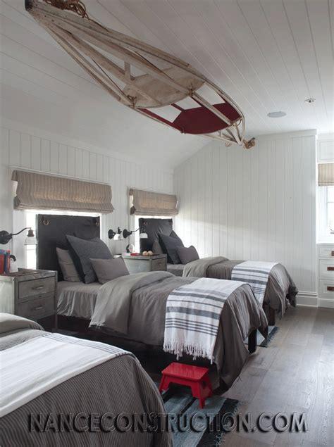 triplets bedroom images  pinterest bunk beds