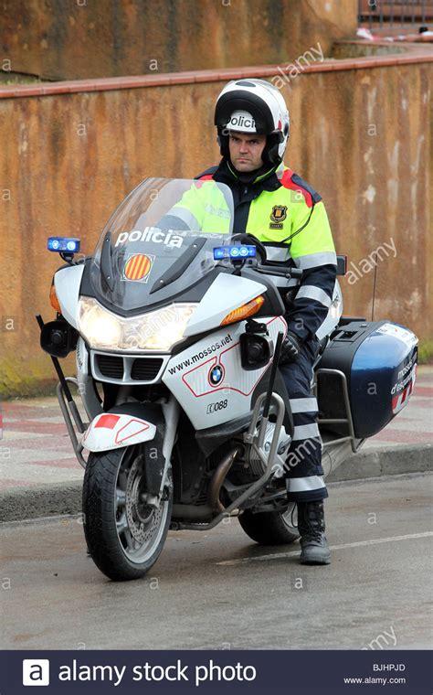 Catalán moto Rider, la policía Mossos d'Esquadra