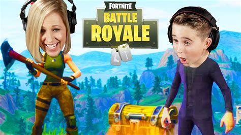 kids  parents play fortnite