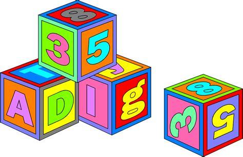 Blocks Clipart Blocks Toys Free Stock Photo Illustration Of Colorful