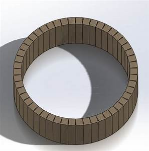 Calculating Kerf cuts for bending wood/mdf - DASSAULT