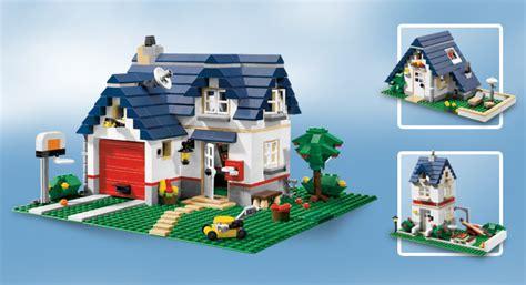 neu lego creator  haus mit garage apple tree house ebay