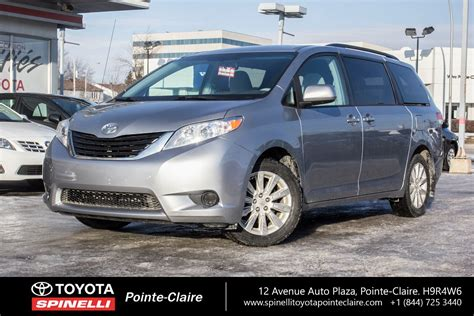 toyota sienna le awd  sale  montreal
