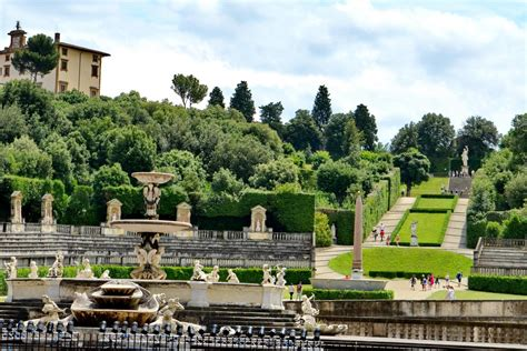 Florence Medici's Mile And Entrance Ticket To Boboli Gardens