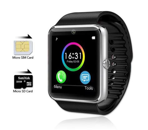 smartwatches compatible with iphone newest 2015 bluetooth smart watches gt08 with sim card
