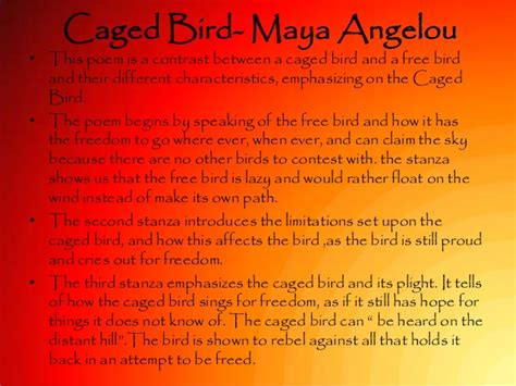 i know why the caged bird sings poem caged bird maya angelou