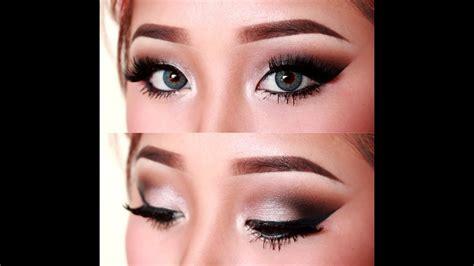 sultry silver cutcrease eye makeup tutorial youtube