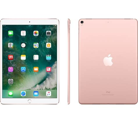 buy apple  ipad pro  gb rose gold   delivery currys