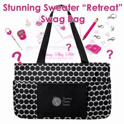 Swag Bag Sweater Retreat Stunning String