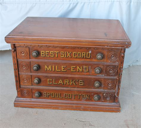 antique spool cabinet value bargain s antiques 187 archive antique clark s