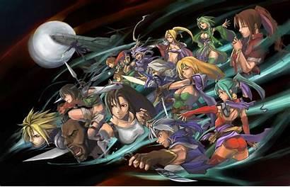 Fantasy Final Ff7 Wallpapers Tifa Vii Series
