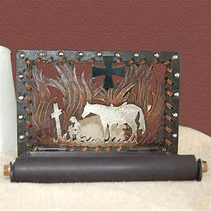 Praying Cowboy Toilet Paper Holder  Cabin Place