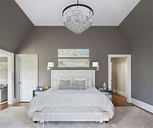 beautiful chambre taupe rouge contemporary design trends With chambre blanc et taupe