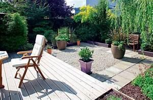 Gartengestaltung Bilder Kleiner Garten : kleiner garten mit terrasse und rasen nowaday garden ~ Lizthompson.info Haus und Dekorationen