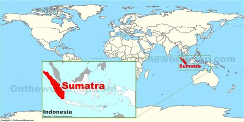 sumatra   world map