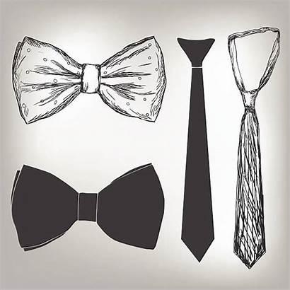 Vector Tie Bow Bowtie Illustrations Neck Tuxedo