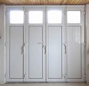 Porte De Garage Pliante À La Française 4 Vantaux : porte de garage battante en aluminium 2 3 ou 4 vantaux menuiseries doumenc ~ Nature-et-papiers.com Idées de Décoration