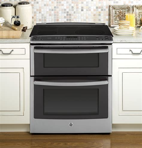 ge slide in gas range reviews ge profile series 30 quot slide in oven electric