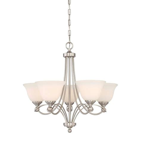 home depot chandelier home decorators collection 5 light antique nickel