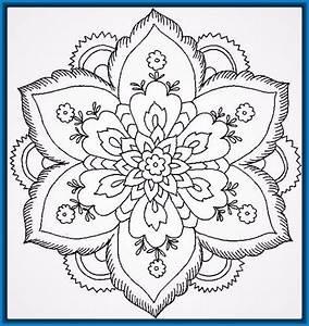 mandalas de flores para colorear e imprimir Archivos Dibujos de Mandalas