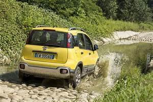 Fiat Panda Jaune : essai fiat panda cross la panda 4x4 qui grimpe aux arbres photo 19 l 39 argus ~ Gottalentnigeria.com Avis de Voitures