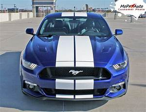 """STALLION : 2015 2016 2017 Ford Mustang Lemans Style 10"""" Wide Racing and Rally Stripes Vinyl ..."""