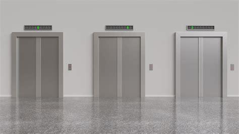 Elevator Door Types & In This Layout The Car Door Rides