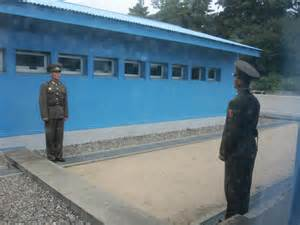DMZ North and South Korea Line Picture