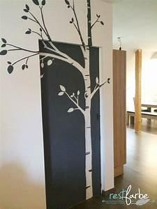 Grüne Wand Selber Bauen : wand bemalen birke farbe malen pinterest w nde ~ Bigdaddyawards.com Haus und Dekorationen