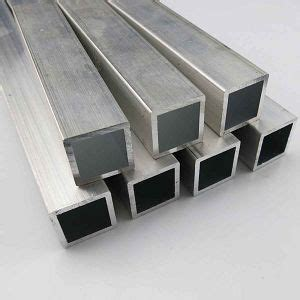 extruded  aluminum square tube sizes