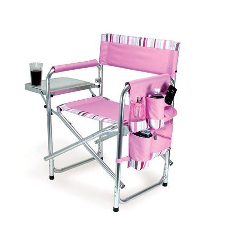 picnic time portable folding sports cing chair w