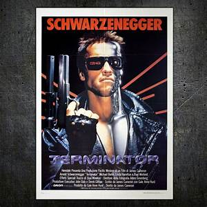 The Terminator - Original Italian movie poster - 1984 ...