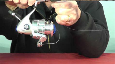 tie mono  braid fishing   spinning reel