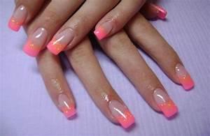 Ongles En Gel Rose : deco ongles ongles gel manucure french rose paillettes dor es ongles en gel motifs en 25 ~ Melissatoandfro.com Idées de Décoration