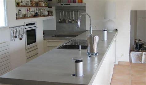 beton ciré cuisine plan travail je viens d 39 acheter un appartement je refais tout mais