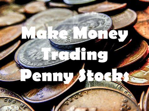 money trading penny stocks
