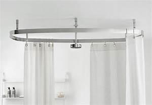 Duschvorhang Halterung Ohne Bohren : cooper vorhangstangensystem von agape stylepark ~ Michelbontemps.com Haus und Dekorationen