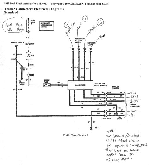 Tail Light Wiring Diagram Ford Gallery