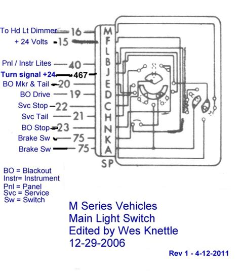Willy Mb Battery Wire Diagram by Willys M38 Wiring Diagram With Ignition Switch Wes K