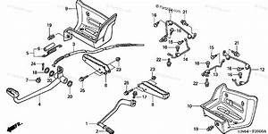 Honda Atv 2005 Oem Parts Diagram For Pedal    Step    Splash