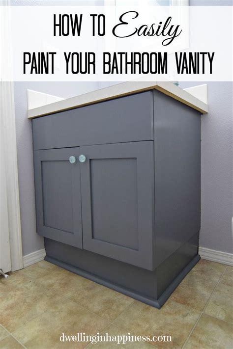ideas  painting bathroom vanities