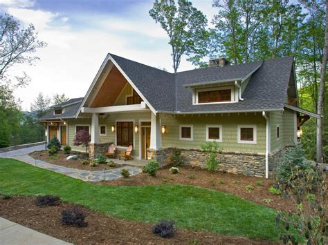 Green Home Design Ideas by Olive Craftsman Exterior With Stunning Curb Appeal Hgtv