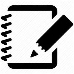 Writing Icon Transparent