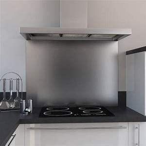 Fond De Hotte Verre : fond de hotte cuisine inox l60 x p65 x e1 1 cm planeko oskab ~ Dailycaller-alerts.com Idées de Décoration