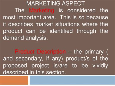study marketing feasibility study marketing technical and management aspect