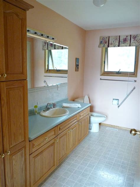 hometalk budget friendly bathroom makeover