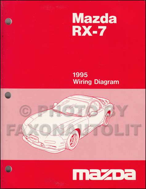 electric and cars manual 1995 mazda rx 7 auto manual 1995 mazda rx 7 wiring diagram manual original rx7