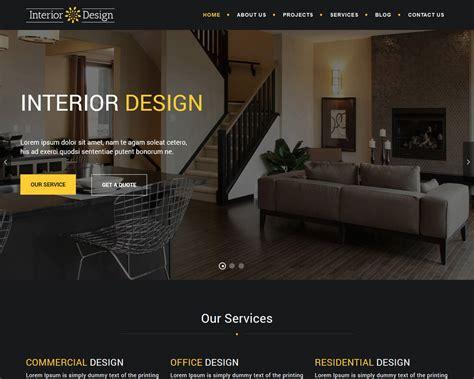 20 Interior Design Instagram Accounts To Follow For Home: 20+ Eye Catching Interior Design Website Templates 2018